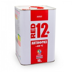 Антифриз для двигателя Antifreeze Red 12+ -40⁰С 10 кг (XA 50407_)