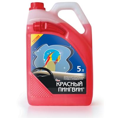 """Жидкость для омывания стекол автомобиля """"Красный пингвин"""" -22 ⁰С (зима)"""