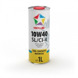 Напівсинтетична олива Verylube 10W-40 SL/CI-4 1 л (ХВ 20164)