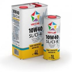 Напівсинтетична олива Verylube 10W-40 SL/CI-4